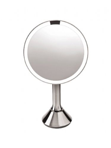 "Simplehuman 8"" Illuminated Magnifying Sensor LED Mirror BT1080"